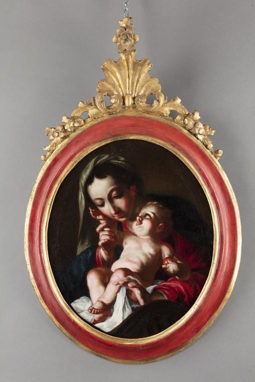 Cignaroli (attribuito), Madonna col Bambino