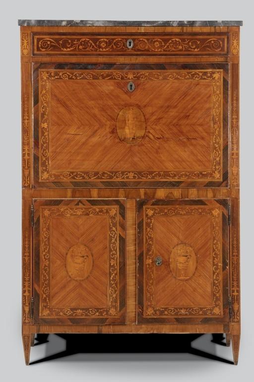 Secrétaire intarsiato, fine del XVIII secolo