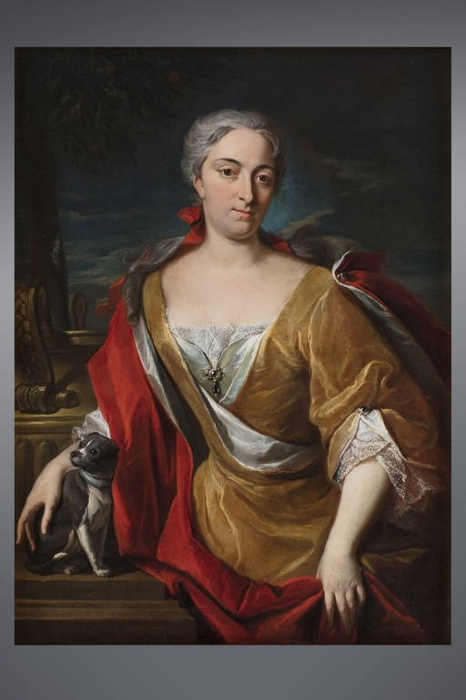 "Anonimo XVIII secolo, ""Gentildonna"""