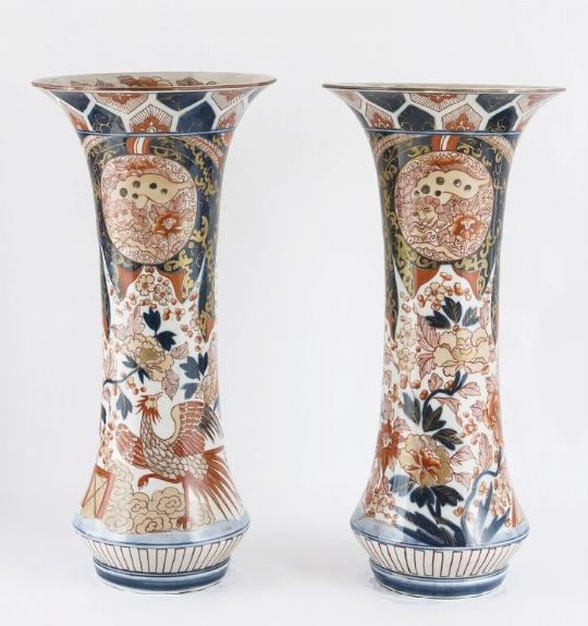 Coppia di vasi, Cina
