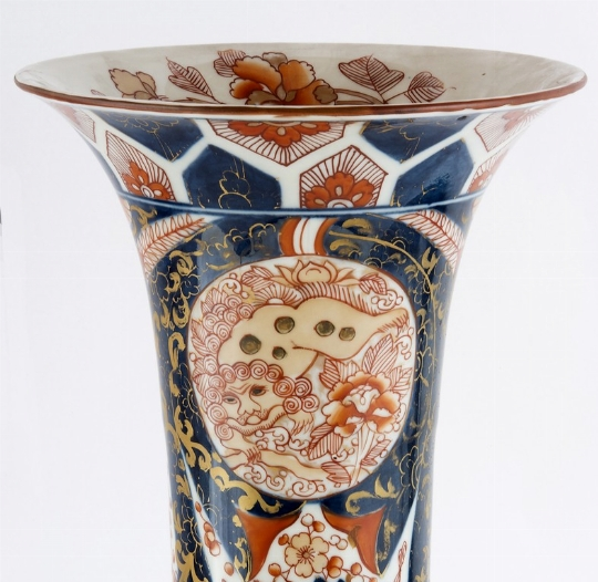Coppia di vasi, Cina (part)