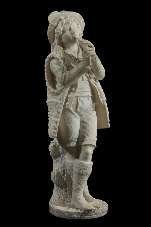 Anonimo del XIX secolo, 'Pastorello con flauto' - CATALOGO