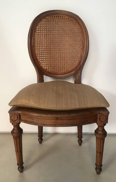 Sei sedie Luigi XVI