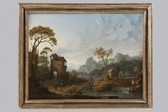Anonimo del XVIII secolo, Paesaggio