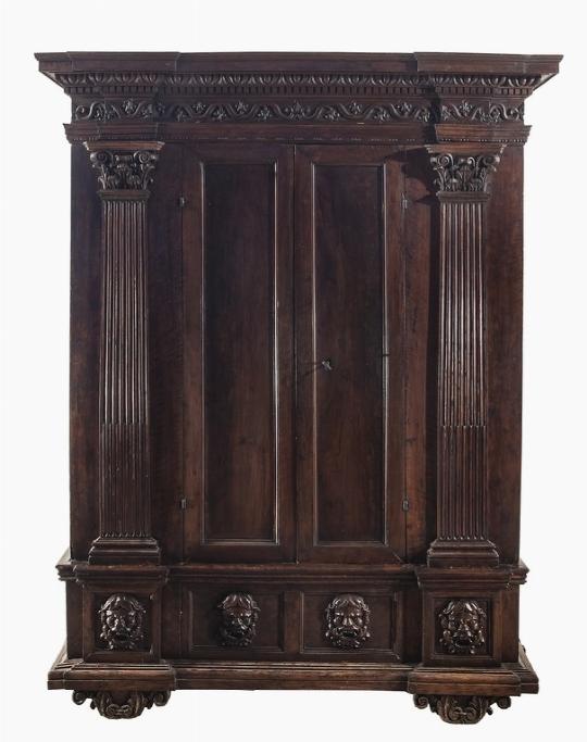 Armadio, XVII secolo