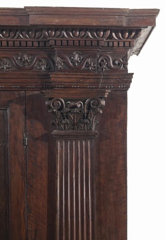 Armadio, XVII secolo particolare