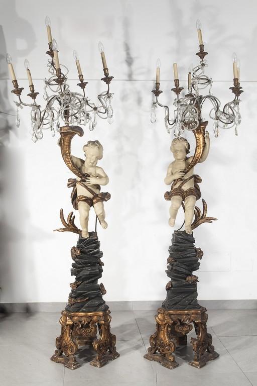 Coppia di candelieri