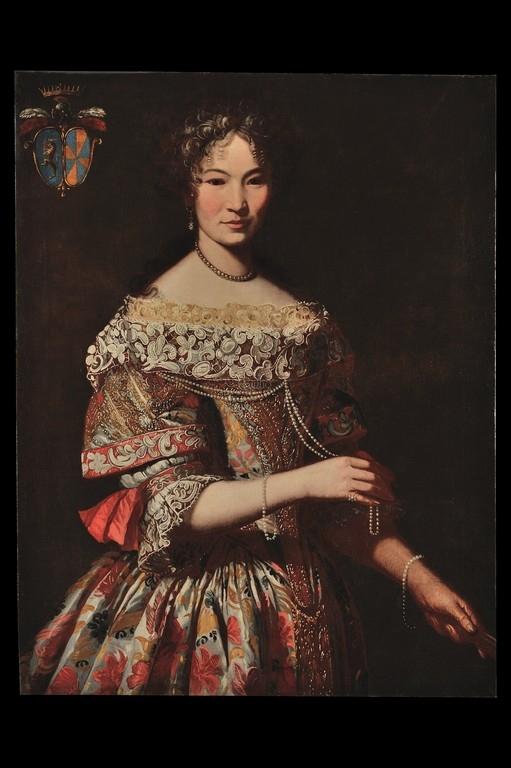 Pier Francesco Cittadini, 'Ritratto di gentildonna della famiglia De Seyssel' - Galleria