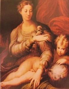 Mazzola Francesco (il Parmigianino) - PITTORI e SCULTORI