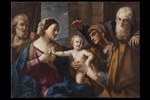 Elisabetta Sirani, 'Sacra Famiglia delle ciliegie' - Galleria