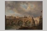 Giovanni Migliara, 'Veduta di Roma, Ponte Rotto' - Galleria