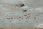 Filippo Carcano, 'Nata dal mare', 1911 - Galleria