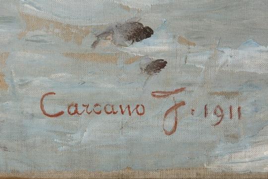 Filippo Carcano, 'Nata dal mare', 1911 - CATALOGO