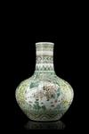 Vaso Famiglia Verde, Cina, XIX secolo - Galleria