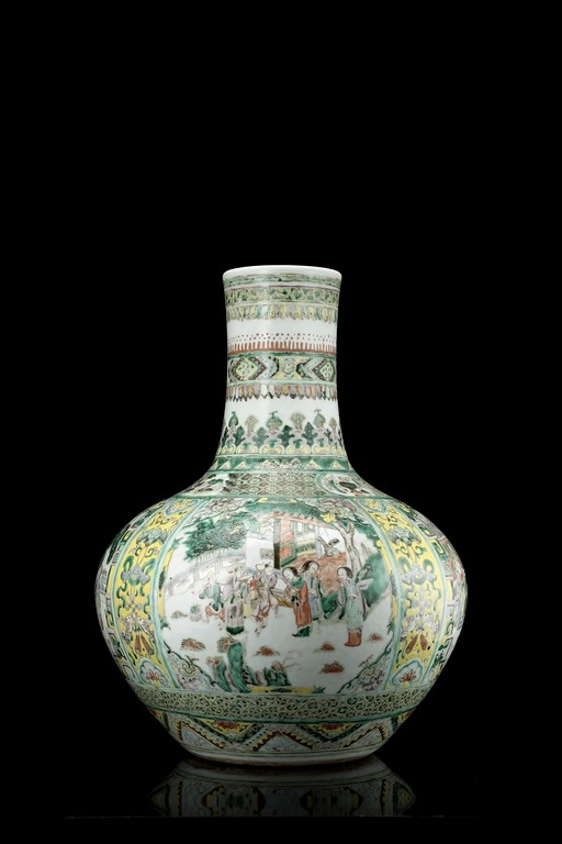 Vaso Famiglia Verde, Cina, XIX secolo - CATALOGO