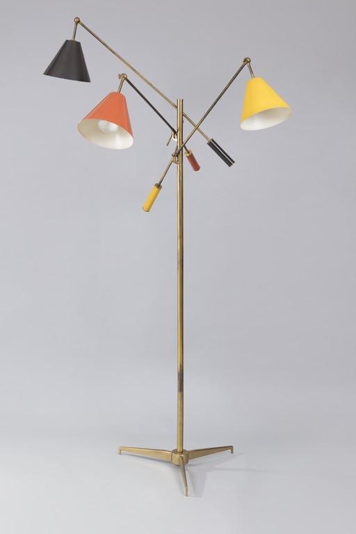 Angelo Lelii, Lampada da terra modello 12128 Triennale - CATALOGO