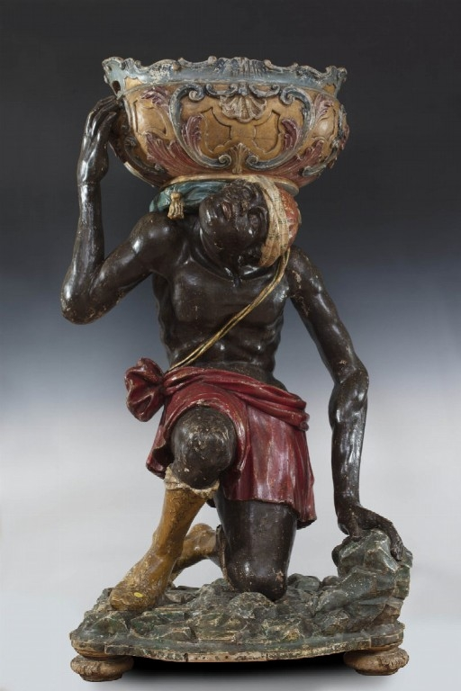 Moro caneforo del XVIII secolo - CATALOGO