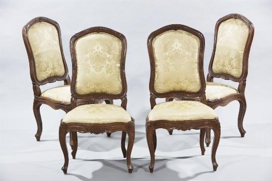 Quattro sedie, Genova, XVIII secolo - CATALOGO