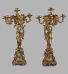 Coppia di candelieri del XIX secolo - Galleria