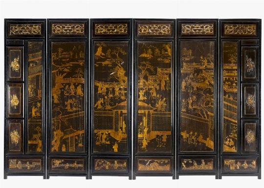 Paravento, Cina, inizi del XX secolo - Galleria