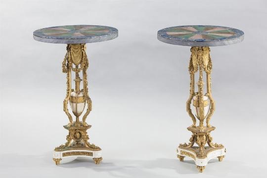 Coppia di guéridons, XIX secolo - Galleria