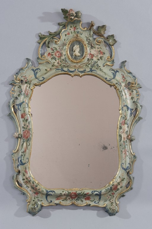 Piccola specchiera, Venezia, XVIII secolo - Galleria