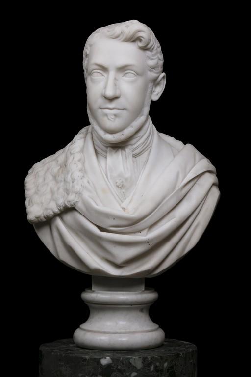 Anonimo del XIX secolo, 'Busto di gentiluomo' - Galleria
