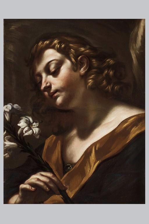 Giovanni Battista Benaschi, 'Angelo con giglio' - Galleria