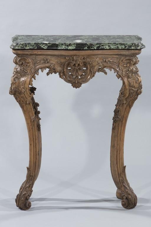 Piccola console, XVIII secolo - Galleria