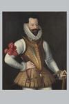 Scuola italiana del XVII secolo, 'Ritratto di Alessandro Farnese' - Galleria