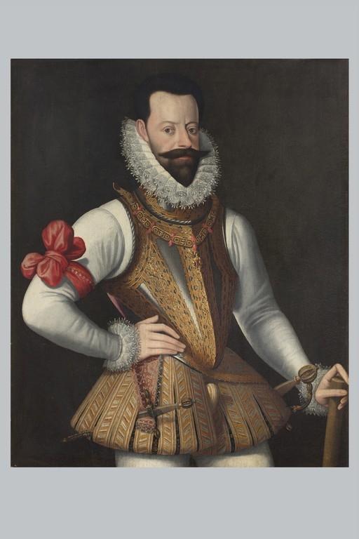 Scuola italiana del XVII secolo, 'Ritratto di Alessandro Farnese' - CATALOGO