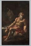 Anonimo del XVII secolo, a) 'Maria Maddalena' b) 'San Gerolamo' - Galleria