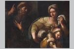 Anonimo del XVII secolo, a) 'La cacciata di Agar e Ismaele'; b) 'Il sacrificio di Isacco' - Galleria