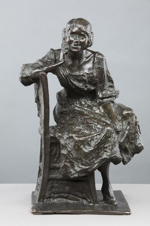 Pietro Riboldi, 'Donna seduta' - OPERE