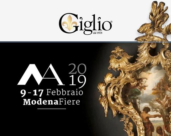Antichità Giglio a Modenantiquaria 2019 - Lista eventi