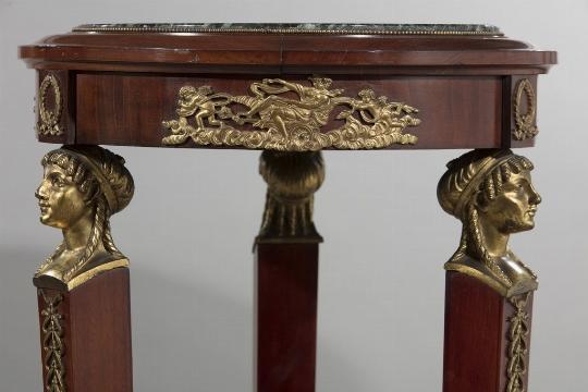 Coppia di guéridons, Francia, seconda metà del XIX secolo - Galleria