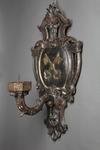 Coppia di candelieri da muro, XVII/XVIII secolo - Galleria