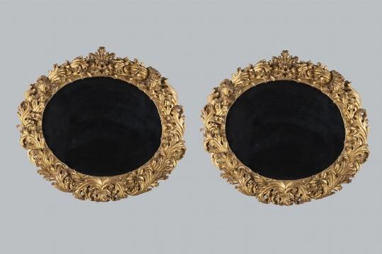 Coppia di specchiere, XVIII secolo - CATALOGO