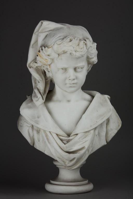 Scultore del XIX/XX secolo, 'Fanciullo' - Galleria