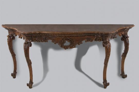Console, Venezia, metà del XVIII secolo