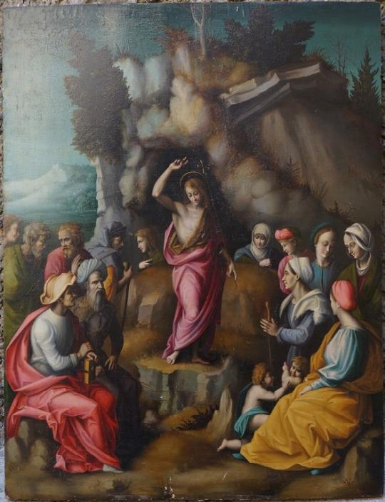 Francesco Ubertini detto Bacchiaca, Antichità Giglio